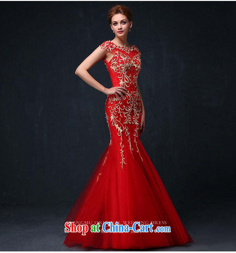 Luang Prabang in 2015 new summer dress red Fung Mo 9 days embroidery marriages served toast crowsfoot evening dress red XL pictures, price, brand platters! Elections are good character, the national distribution, so why buy now enjoy more preferential! Health