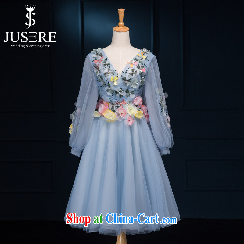 It is not the JUSERE high-end wedding dresses 2015 cannes film van Ice Festival flower fairies, the fairy dress romantic sweet refreshing Body skirt short 2 code