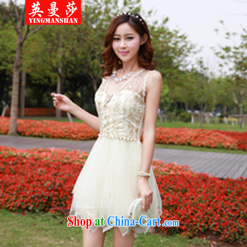 The Manchester Windsor stitching is not rules manually set a light silk shaggy Princess dresses small dress picture color