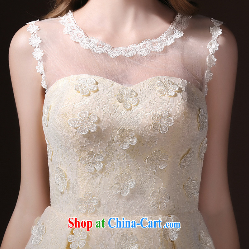2015 new languages empty bridesmaid dresses clothing summer short sister dress bridal toast serving champagne color tailored Advisory Service, according to Lin, Elizabeth, and shopping on the Internet