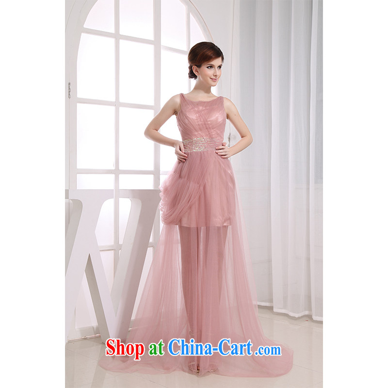The beautiful yarn strap skirt beauty shoulders transparent small-tail fashion beauty thin Princess party photo building theme bridesmaid 2015 with new products.