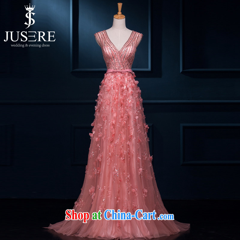 It is not the JUSERE high-end dress graduated from the betrothal 2015 spring and summer new woman married long evening dress bride's toast clothing wedding dress bridesmaid clothing rose 4