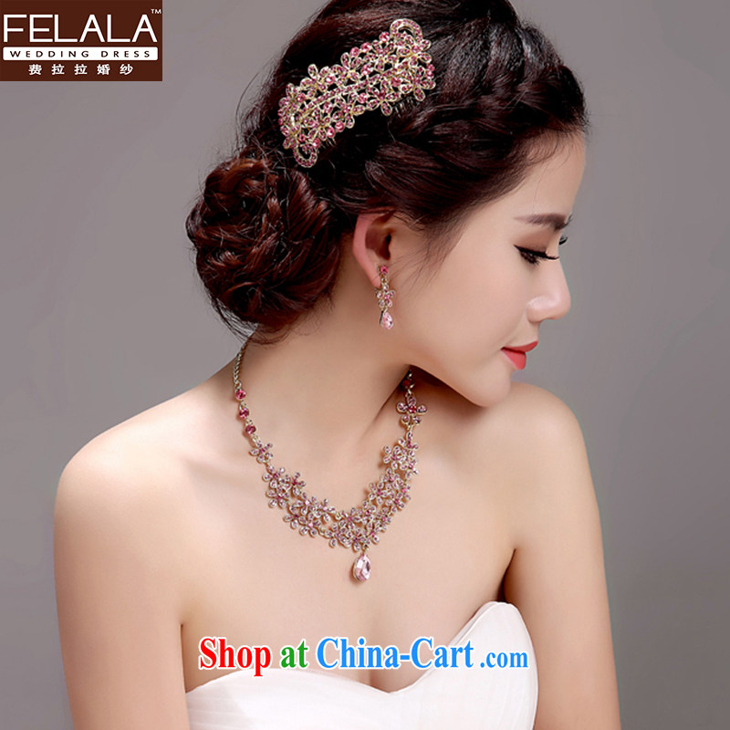 Ferrara 2015 wedding ceremony dress, garlands and ornaments necklace earrings set Fashion jewelry and ornaments necklaces earrings kit