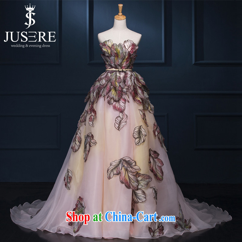 It is the JUSERE wedding dresses 2015 big go-su star Shu Qi Cannes Film Festival, the Butterfly stamp large double-yi long skirt dress suit high-end custom contact Customer Service