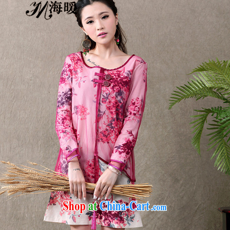 The warm 2015 cheongsam dress also heart homes red L