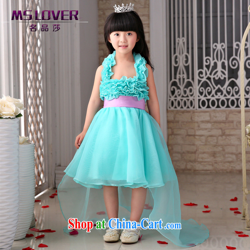 2015 MSLover new flower dress children dance stage dress wedding dress TZ 150,501 14 code