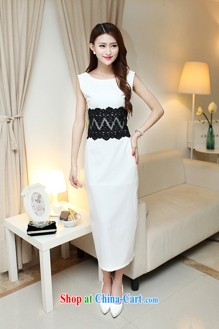 42 multi-yi 2015 summer sense of beauty dresses back exposed the forklift truck package and long skirt Evening Dress 1656 white L pictures, price, brand platters! Elections are good character, the national distribution, so why buy now enjoy more preferential! Health