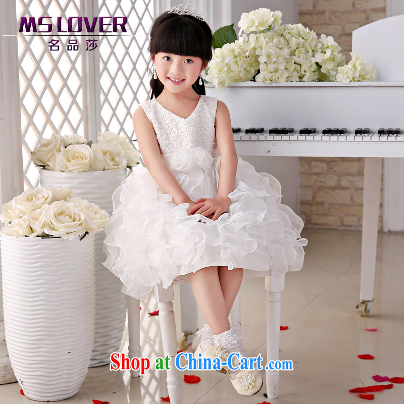 2015 MSLover new flower dress children dance stage dress wedding dress TZ 15058912 ivory 14 code