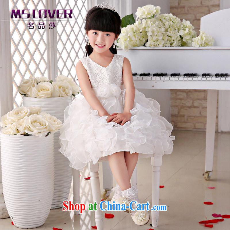 2015 MSLover new flower dress children dance stage dress wedding dress TZ 15058912 ivory 14 code