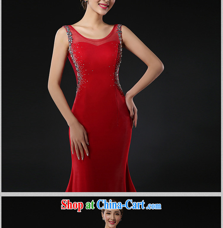 The Greek, Mona Lisa (XILUOSHA) Evening Dress long-tail marriages served toast beauty graphics thin crowsfoot performance service moderator dress girls of red XXL pictures, price, brand platters! Elections are good character, the national distribution, so why buy now enjoy more preferential! Health