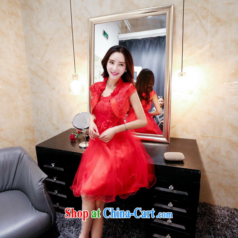 Summer 2015 new summer new trendy waist-style web dress straps, decorated with red dresses XXL