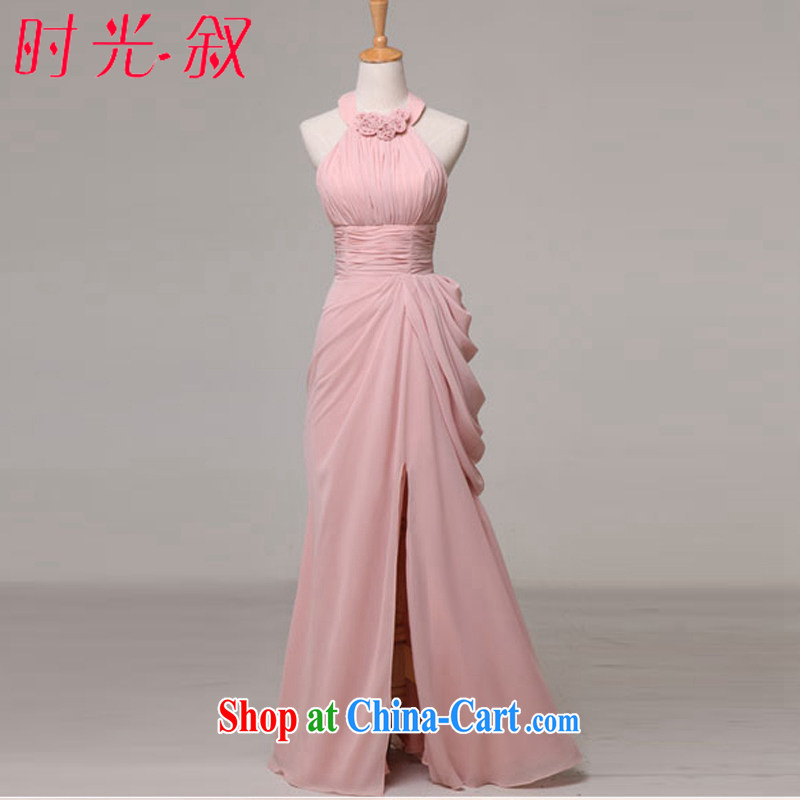Time SYRIAN ARAB champagne color summer 2015 new bridesmaid's dress skirt cuff in bridesmaid service small dress women dress in long skirts and sisters D XXL paragraph