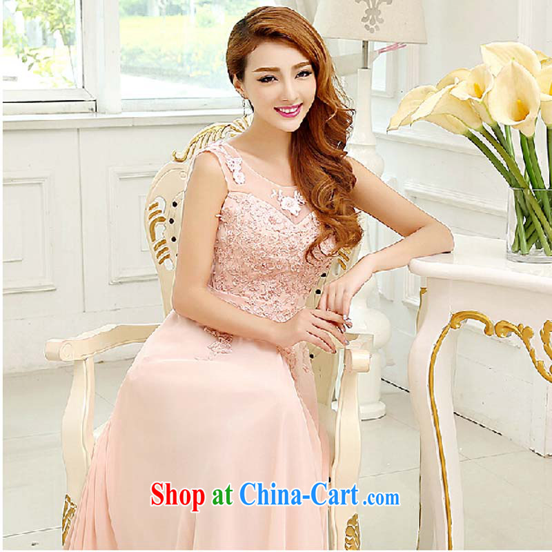 Bridal wedding dresses bows new 2015 bridesmaid clothing company annual Evening Dress long stylish lace shoulders red tailored contact Customer Service