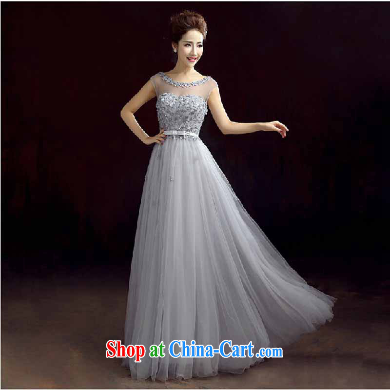 Pure bamboo yarn love 2015 New Red bridal wedding dress long evening dress evening dress uniform toasting Red double-shoulder dresses beauty gray tailored contact Customer Service