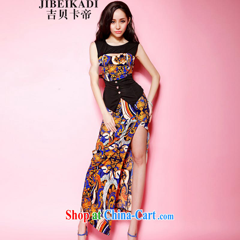New dresses night women swept Europe and Evening Dress long, cultivating the forklift truck tight package and long skirt 3303 picture color code