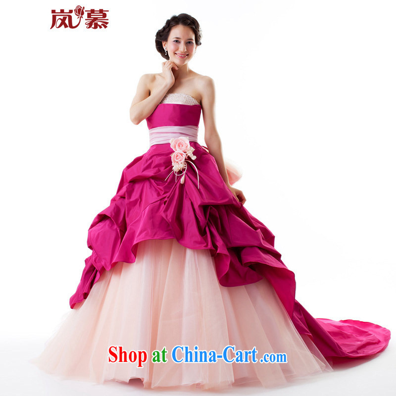Sponsors The 2015 original design for the shaggy skirts trailing multi-layer design the ceremony dress dress uniforms such as the red custom size