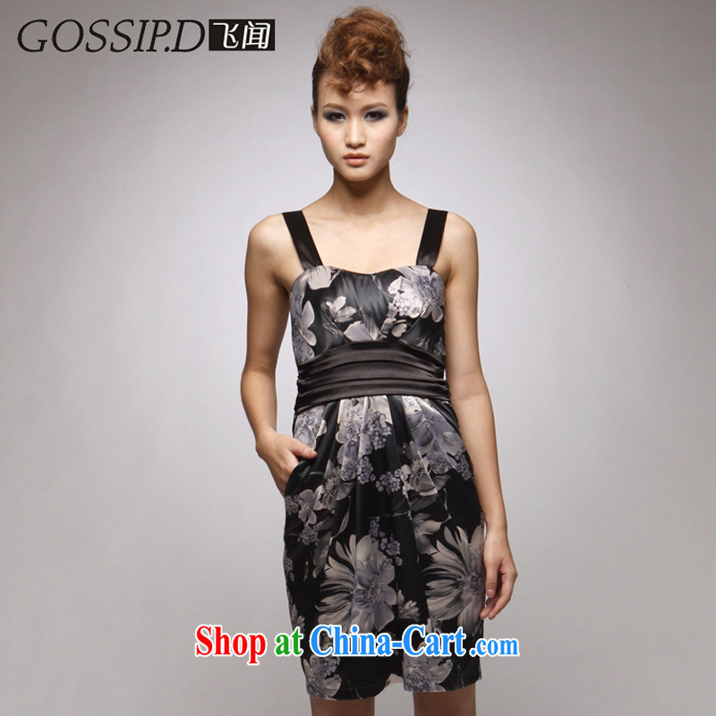 GOSSIP . D special 2014 new short skirts reception performance dress skirt banquet beauty antique dresses 1026 melded L