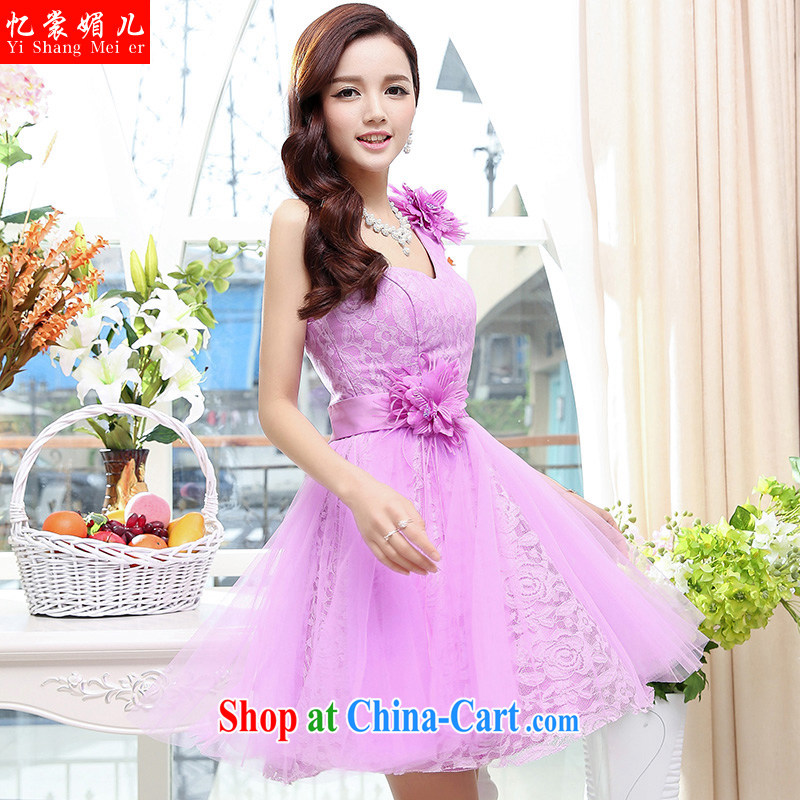 Recall that advisory committee that Children Summer 2015 new stylish dresses purple XL