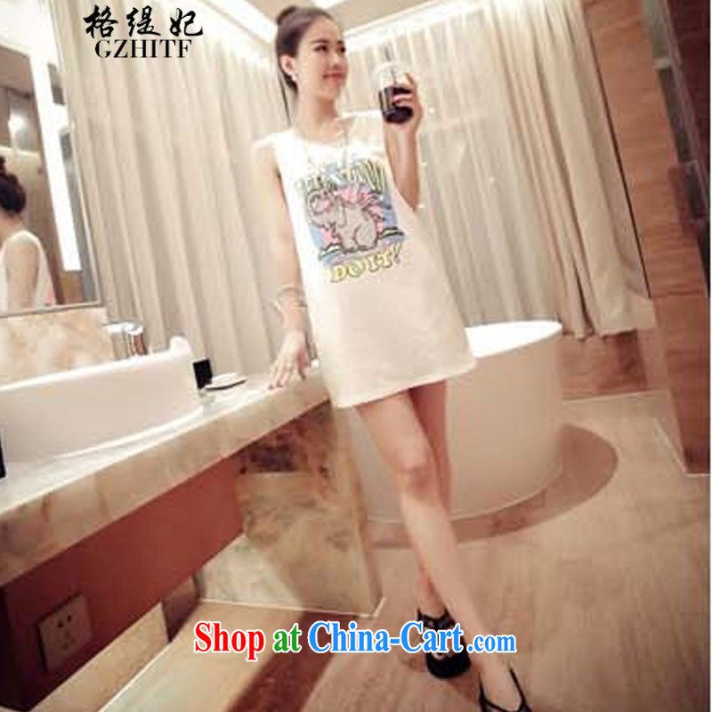 The economy should be Princess Korean elephant stamp relaxed relaxed dress vest the 325 A 990,118 white are code