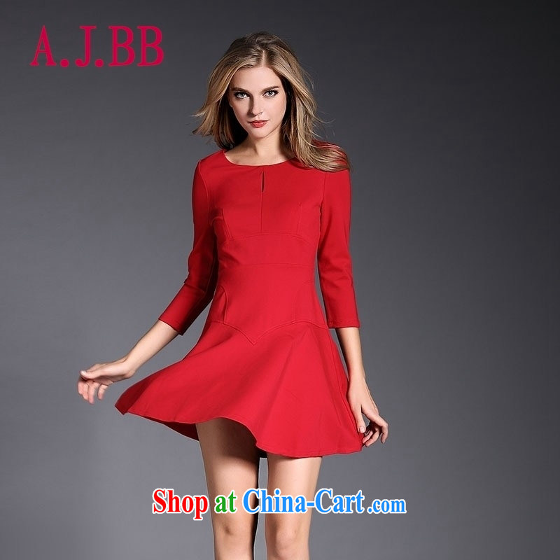 With vPro heartrendingly dress 2015 New Red wedding dress toast 7 cuff crowsfoot cultivating the door serving the 3083 Code Red XL