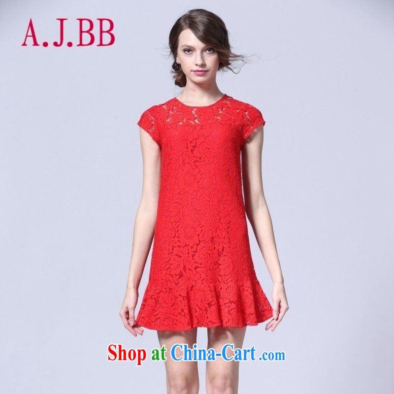 With vPro heartrendingly dress silk dress dress code the dress two-piece 3089 red XXL