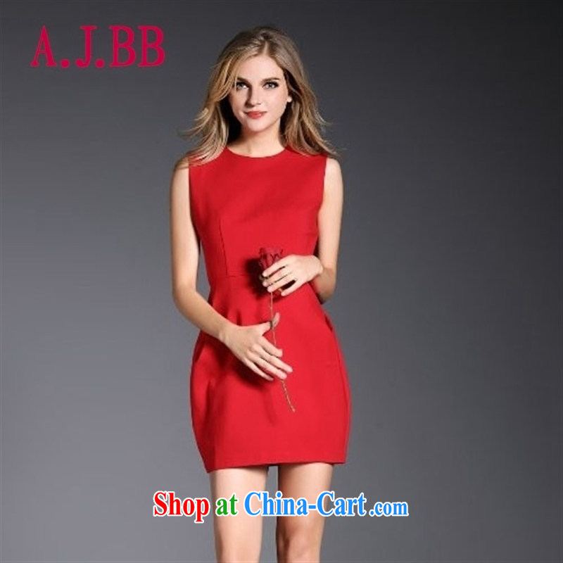 With vPro heartrendingly dress red bows dress Back Door Service summer dresses 3084 red XL