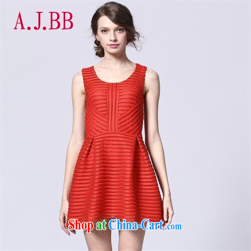 With vPro heartrendingly dress stylish summer style short dresses beauty graphics thin marriage toast serving the door small dress 2178 red XL