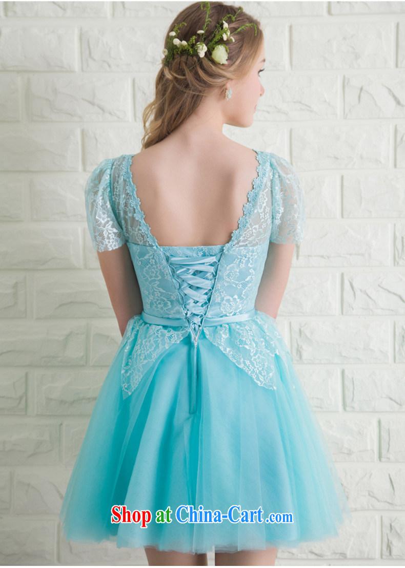 Ho full Chamber lace package shoulder dress dress short wedding ...