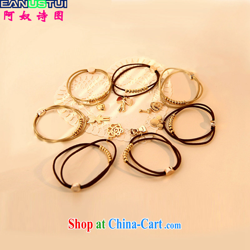 The slave poetry _EANUSTUI_ 2015 Korean card pendants Hand chain-ring-dress A 5128 random gifts