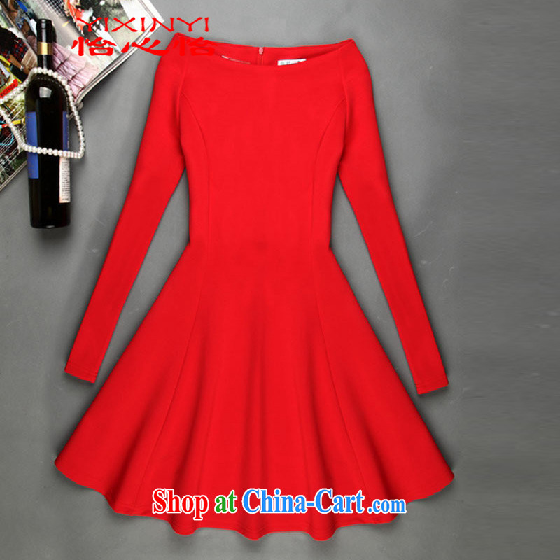Yi Hsin Yi coco small incense, a field for small A cuff in black dress suit Female red XXL