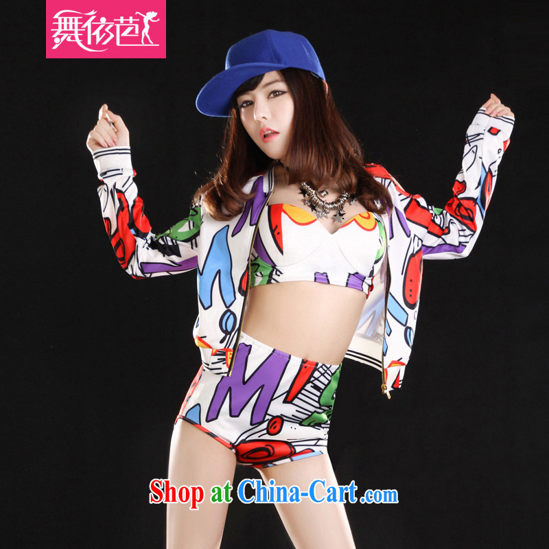 In accordance with dance Hip Hop bar DS performance service female singer DJ night dancer clothing hiphop hip-hop, jazz stage with picture color code